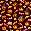 Halloween Pattern — Stock Vector