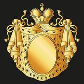 Emblema heráldico — Vector de stock