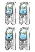 Karikatür cep telefonu — Stok Vektör