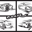 Set of cars — Stock Vector #13503289
