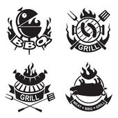 Barbecue banners — Stock Vector