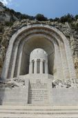 War Memorial Nice France — Stock Photo