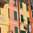 Cinque Terre Colorful Homes — Stock Photo
