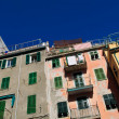 Cinque Terre Colorful Homes — Stock Photo #13121555