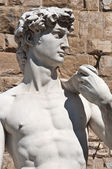 David in Florence Italy — Stock Photo