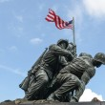 Iwo Jima Washington DC — Stock Photo