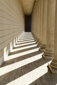 Pillars in a Row — Stock Photo