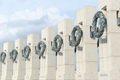 World War 2 Memorial in Washington DC — Stock Photo