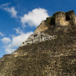 Xunantunich Belize Mayan Temple - Stock Photo