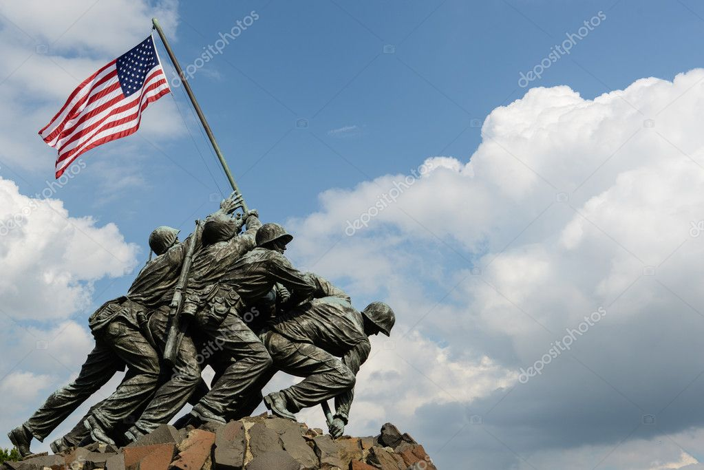 硫磺岛战役纪念碑