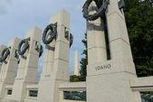 World War II Memorial — Stock Photo