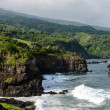 Cliffs along the Road to Hana in Maui, Hawaii — Stock Photo #14889533