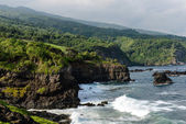 Cliffs along the Road to Hana in Maui, Hawaii — Stock Photo