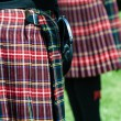 Scottish Kilt — Stock Photo