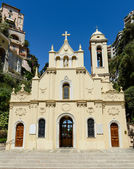 Sainte Devote in Monte Carlo Monaco — Stock Photo