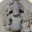 Ganesha Stone Statue — Stock Photo