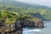 Cliffs in Maui Hawaii — Stock Photo