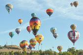 Hot Air Balloon Editorial 2012 — Stock Photo