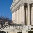 Stock Photo: Supreme Court Building in Winter