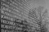 Vietnam War Memorial — Stock Photo