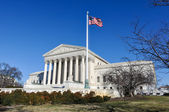 Supreme Court of the United States in the Winter — Stock Photo