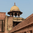 Agra Fort Tourist Destination in India — Stock Photo #19310181