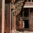 Pillars at Fort Agra in India — Stock Photo #19310285