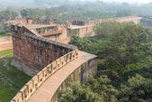 Agra fort touristique en inde — Photo