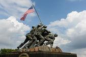 Iwo Jima Memorial — Stock Photo