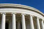 Pillars of the Jefferson Memorial — Stock Photo
