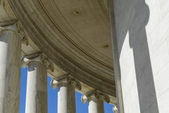 Columns of Jefferson Memorial — Stock Photo