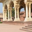 Agra Fort Pillars — Stock Photo