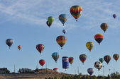 Hot Air Balloon Editorial 2012 — Stock Photo