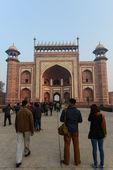 Entrance into the Taj Mahal — Stock Photo