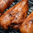 Chicken Breasts on the Grill — Stock Photo