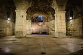 Rustic Underground Room — Stock Photo