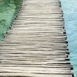 Stock Photo: Wooden Hiking Path or Trail over Water