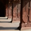 Pillars at Fort Agra in India — Stock Photo #29911147