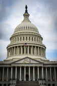 Capitol Hill in Washington DC — Stock Photo