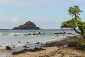Koki Beach on Road to Hana in Maui Hawaii — Stock Photo