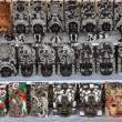 Mayan Masks for Sale — Stock Photo