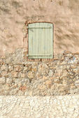 Green French Window — Stock Photo