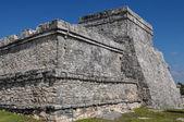 Tulum maya harabelerini — Stok fotoğraf