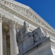 Stock Photo: Supreme Court Statue