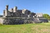 Tulum meksika maya harabelerini — Stok fotoğraf