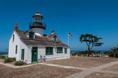 Point Pinos Historic Lighthouse in Monterey California — Stock Photo