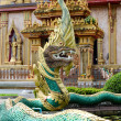 Dragon at the Wat Chalong in Phuket Thailand — Stock Photo #36491401