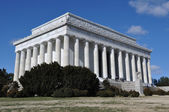 Lincoln memorial em washington dc — Foto Stock