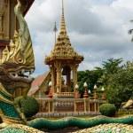 Dragon at Wat Chalong in Phuket — Stock Photo #40740975