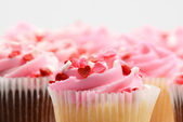 Día de san valentín cupcakes — Foto de Stock